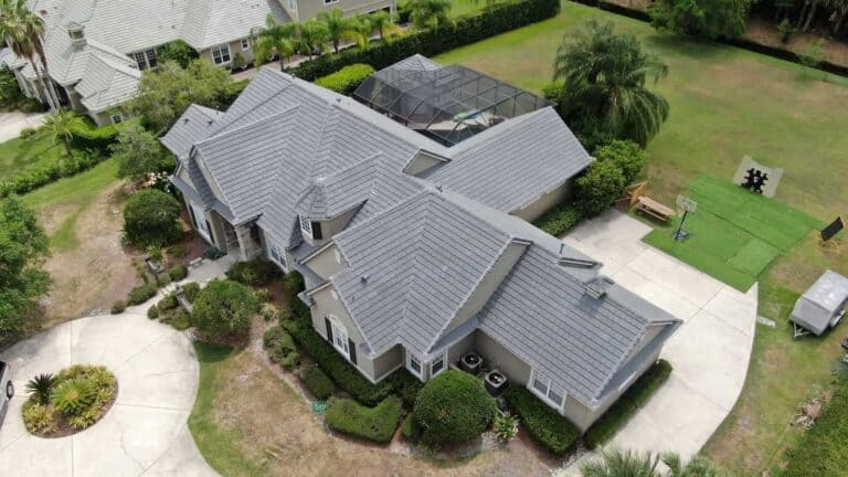 Tile roof replacement in Florida by RoofClaim.com