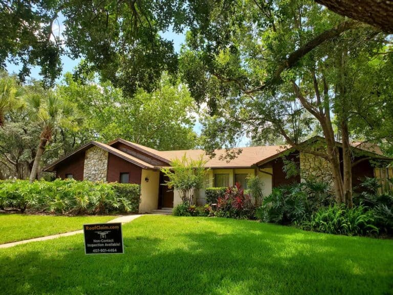 Home With New Roof After RoofClaim.com Roof Repair in Lake Mary & Orlando