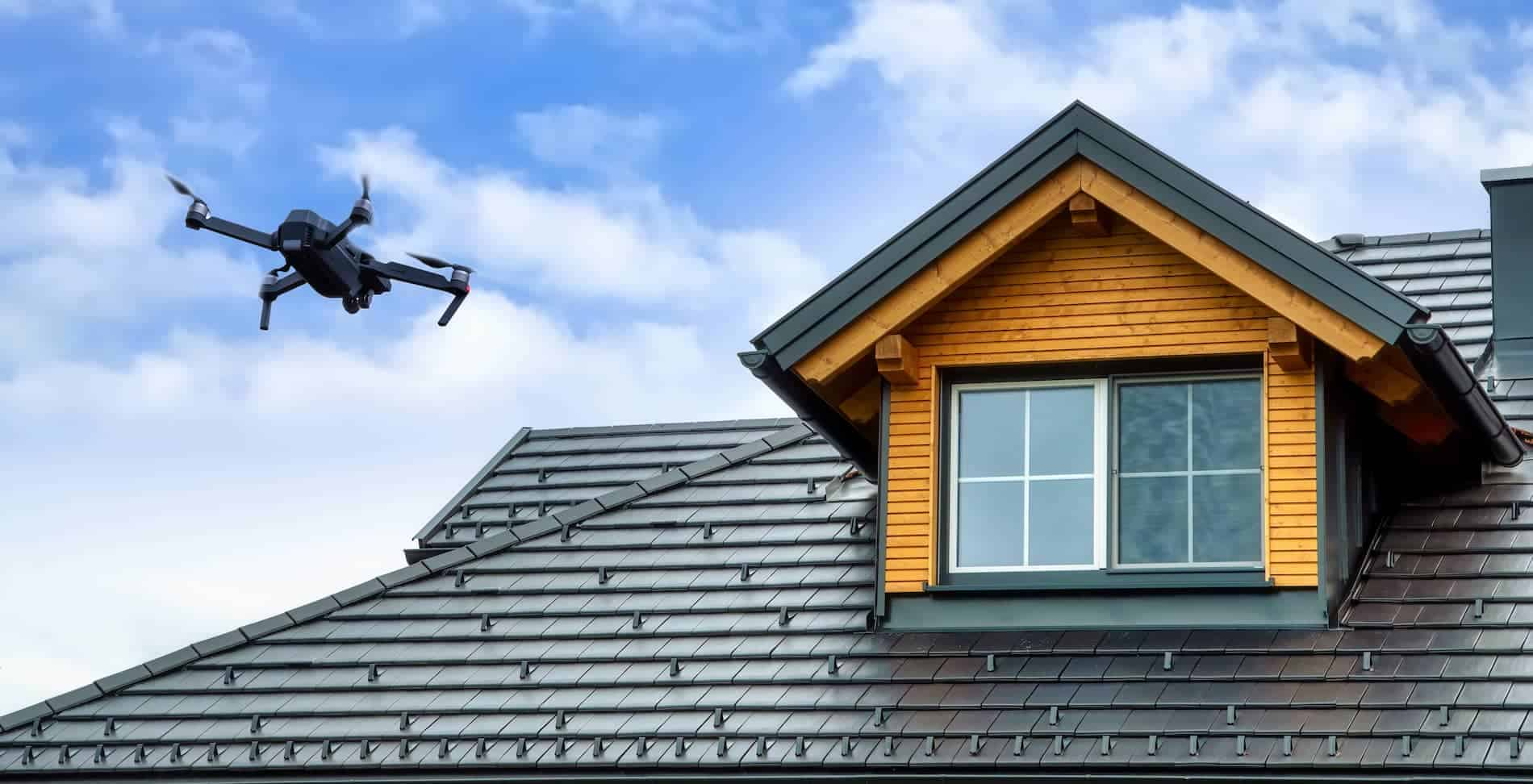 Residential Roof Inspection Service with Drone
