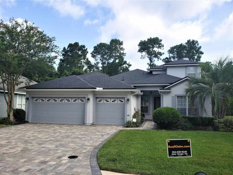 Shingle roof repair in Tallahassee Florida by RoofClaim.com