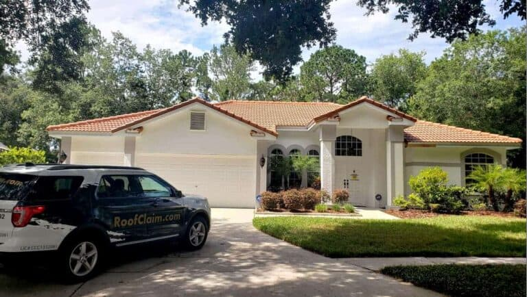 Roof Replacement for Home in Tampa Florida on Bayshore Boulevard