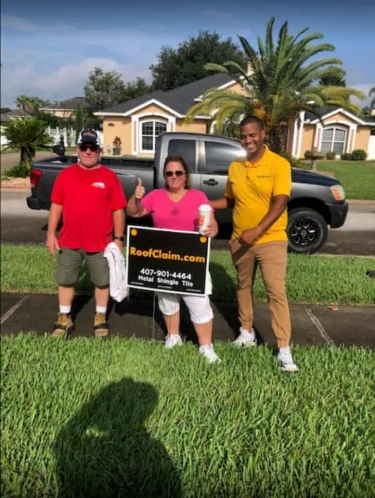 Daytona Beach Roof Repair Customer – RoofClaim.com