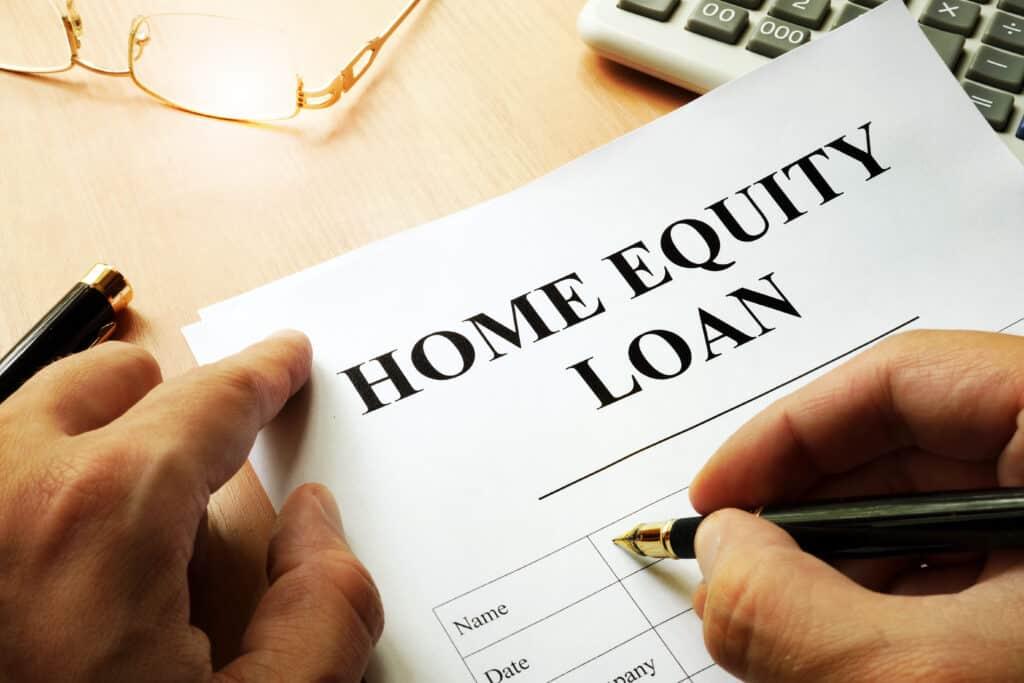 home equity loan paperwork
