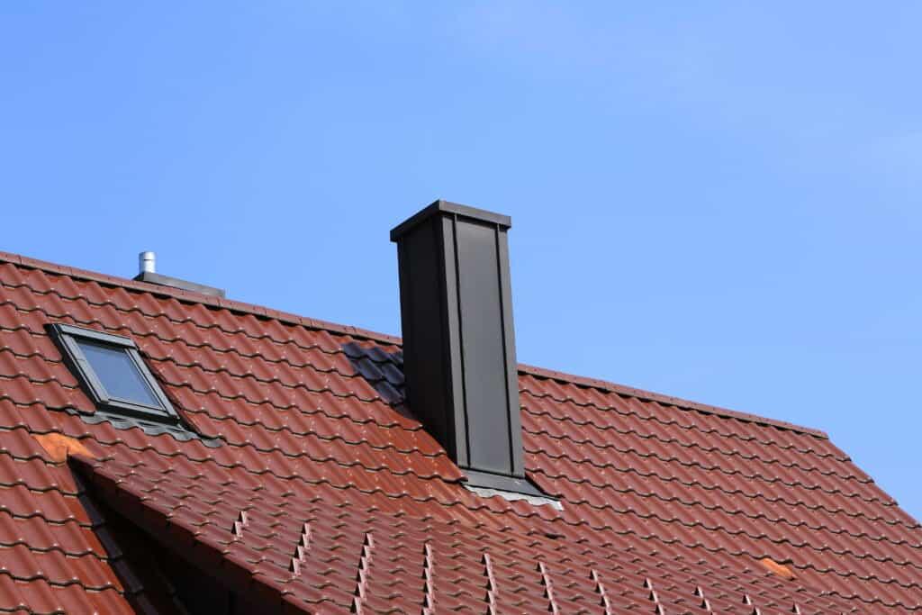 copper tile roof