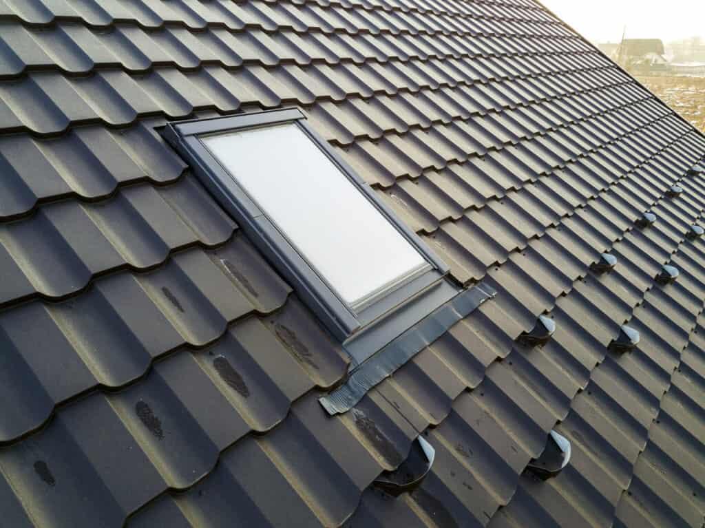 Composite Plastic Shingle Roof