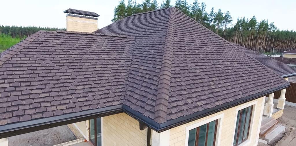 Bituminous Tile Roof