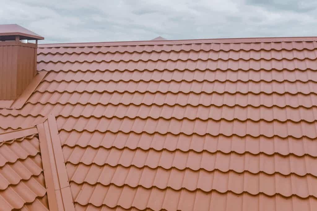 Polymer-Sand Tile Roof