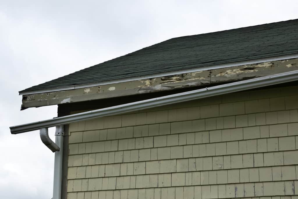 roof needing to be repaired or replaced